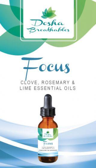 FOCUS Essential Oils For Vaporizers