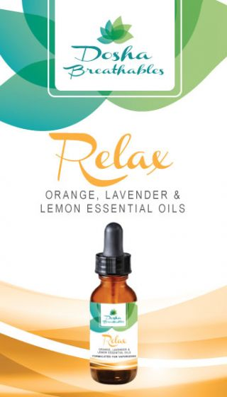 RELAX Essential Oils For Vaporizers